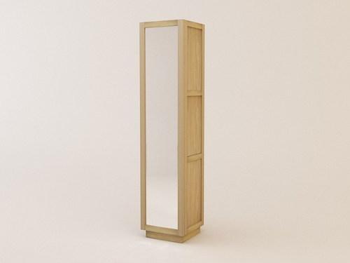 Mobilier De Salle De Bain: Colonne Sdb Miroir Ca-321
