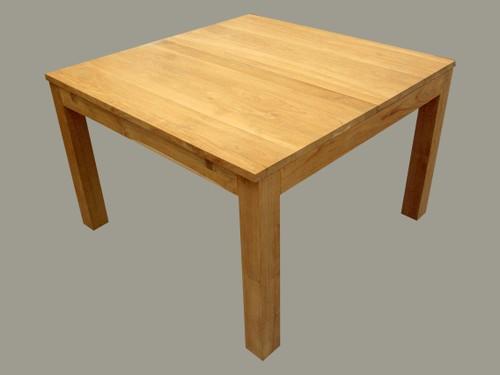 Tables de repas 1 table de repas carr e avec rallonge - Table carree a rallonges ...